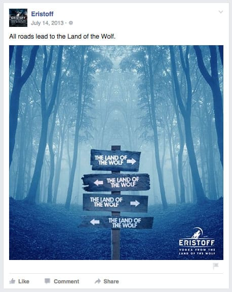 Eristoff the land of the wolf