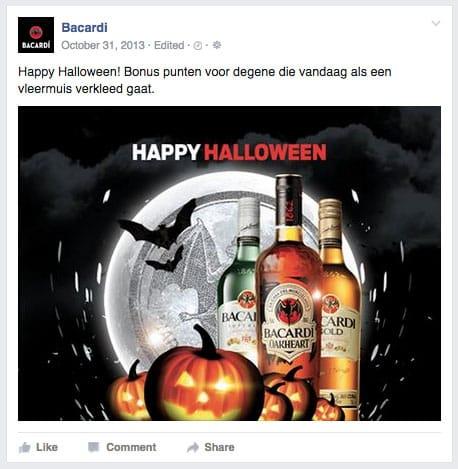 Bacardi Happy Halloween Oakheart