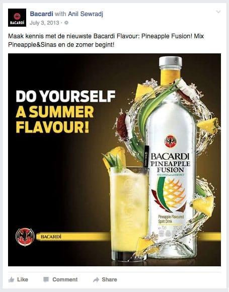 Pineapple Fusion Bacardi